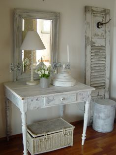 Shabby Chic- is not have the antlers but the rest is pretty