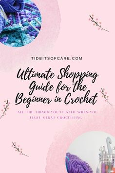 Discover everything you need to start crocheting and more! #yarn Learn To Crochet, Self Care, Lifestyle Blog, Learning, Crocheting, Shopping, Crochet, Studying, Teaching