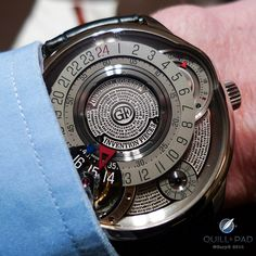 Greubel Forsey Invention Piece 3 with bas relief engraved inscription