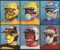 Vintage Race Mask