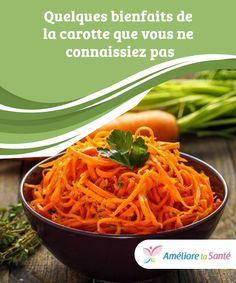 Quelques bienfaits de la carotte que vous ne connaissiez pas Benefits Of Stretching, Aerobics, Carrots, Spaghetti, Weight Loss, Omega 3, Vegetables, Ethnic Recipes, Food