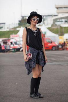 Os melhores looks do segundo dia do Lollapalooza 2015 | MdeMulher