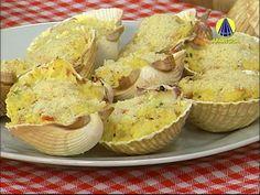 Santa Receita | Mini curso comidas de boteco: casquinhas de siri por Júlio Cruz - YouTube