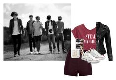 """Steal my girl"" by gabi3773 ❤ liked on Polyvore featuring River Island, Happy Plugs, VIPARO, Converse and Banana Republic"