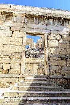 The Beulé Gate, Acropolis, Athens, Greece