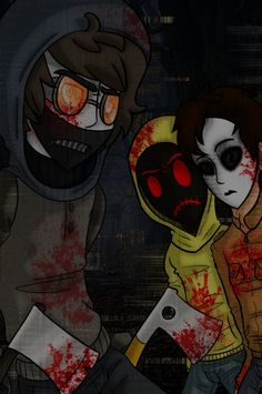 Slender: get her.... purple: *smirks* goodnluck *teleports farther down the street of the neighborhood runs and jumps as one of hoodie's gun bullets pass by me i make a sharp turn dodging another* hoodie: damn it! Come on! *he starts running after me* ((im purple or purple night shade be any of the other proxies))