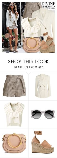 """2606. Street Style"" by chocolatepumma ❤ liked on Polyvore featuring Oris, Vera Wang, Zimmermann, Pierre Balmain, Chloé and Ace"