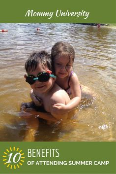 Thinking of summer camp for the kids this summer? Here are 10 Benefits of attending summer camp by Mommy University at www.MommyUniversityNJ.com