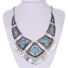 Turkish Turquoise Necklace
