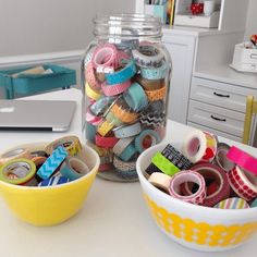 Today I'll be sharing 25 uses for washi tape for endless inspiration! I am obsessed with washi tape! I have over 100 rolls. Washi Tape Dorm, Washi Tape Uses, Washi Tape Storage, Washi Tape Planner, Washi Tape Cards, Masking Tape, Craft Storage, Duct Tape, Washi Tapes