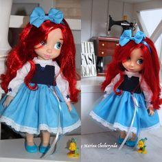 Doll clothes for Disney animator dolls-16 by FairyTaleLOVEit on Etsy
