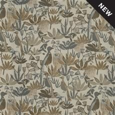 Justina Blakeney Inside Out-Roke Mushroom Fabric Performance Fabrics , suitable for Pillows, Furniture Upholstery, Cushions Justina Blakeney, Blue Chairs Living Room, Cool Chairs, Fabric, Navy Blue Living Room, Chair Fabric, Design Inspiration, Comfy Accent Chairs, Calico Corners