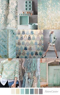 TRANQUIL TEAL | pattern curator | Bloglovin'