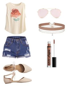 Extra-casual Outfit by jenimarrivera on Polyvore featuring polyvore, fashion, style, Gap, Miss Selfridge, NYX and clothing