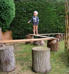 19 DIY backyard play spaces kids will LOVE!