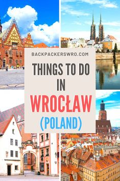 Check out our list of the best things to do in Wrocław. Written by residents! European Travel Tips, Europe Travel Guide, Europe Destinations, Spain Travel, Travel Guides, Travel Abroad, Travel Advice, Countries Europe, Travel Through Europe