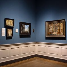 A corner of Room 17 in the National Gallery. From the late 16th century, specialist artists in the Northern Netherlands and in Flanders catered for the demand for small-scale paintings painted with a level of detail that encouraged close looking.  Popular subjects included religious, mythological and historical themes; allegories; church interiors; and scenes of everyday life. Detailed studies of perspective and a lively interest in natural phenomena reflect artists' fascination with the…