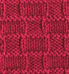 "Online Library of Stitch Patterns. Click on ""Stitch Patterns"" on the left for the complete library."
