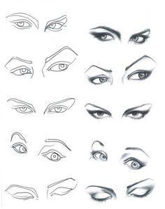 sombra nos olhos.                                                                                                                                                     Mais