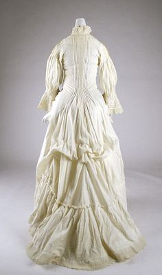 Dress, Morning, 1880s @ The Met