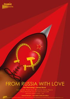 Iconic Moments From Russia With Love Poster - Created by Steven Parry - www.stevenparry.net