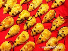 Kindertraktaties: Appelflap-muisjes