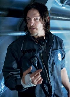 Norman Reedus as Bauer in 'Air'