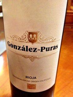 El Alma del Vino.: Bodegas González-Puras Crianza 2012.