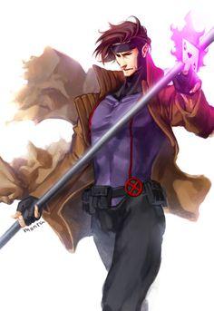 Gambit - X-Men - Mobile Wallpaper - Zerochan Anime Image Board Gambit Marvel, Gambit X Men, Rogue Gambit, Marvel Comics Art, Marvel Dc Comics, Xmen, Comic Books Art, Comic Art, Remy Lebeau