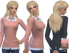 Casual Sweater Pack at Simista • Sims 4 Updates