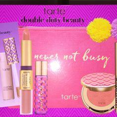 TARTE double duty beauty Never not busy!!