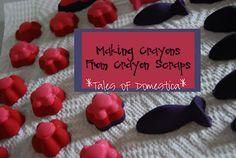 make your own crayons MAKE YOUR OWN CRAYONS ~ KIDS CRAFT IDEAS