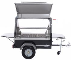 Custom Bbq Pits, Bbq Set, Catering, Cafe Design, Food Truck, Baby Strollers, Trailers, Outdoor Decor, Live