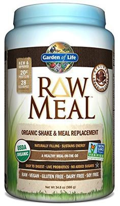 Garden of Life RAW Organic Meal Chocolate , 34.8 oz (Packaging May Vary)