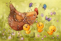 Новые цыплята (Виктория Кирдий)