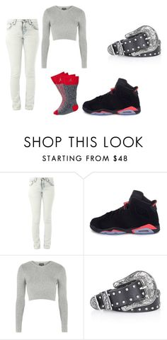 """""""Untitled #153"""" by sirionnaw on Polyvore featuring Nudie Jeans Co., Retrò and Topshop"""