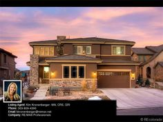 Ready for a house that not only feels like home, but has amazing Colorado sunsets that are simply overwhelming? Check out the 6 bedroom home on 575 Moonmist Court, Littleton, CO 80126
