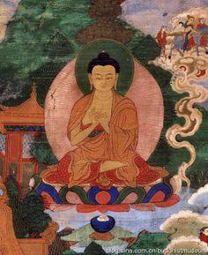 18世纪蒙古-悉达多太子出家唐卡