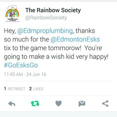 GO ESKS GO !!!! www.proplumbing.ca #yeg #edmonton #leduc #sprucegrove #shpk #stalbert