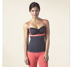 Fashionable and functional Crissy Tank from prAna - perfect for yoga, climbing, or cross training