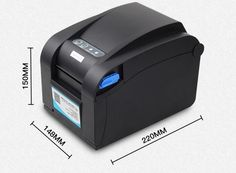 95.00$  Buy now - http://ali2rn.worldwells.pw/go.php?t=32766325008 - XP-358BM Direct Thermal Line USB+RS232+LAN interface 3 port Barcode Label Printer thermal barcode printer