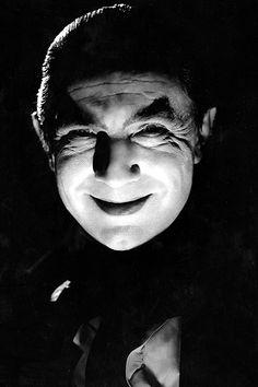 Bela Lugosi. Cute Vampire Smile.