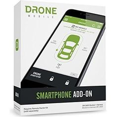 Start your car from your cellphone with Firstech DroneMobile Smartphone Add-On DR3400 Remote Car Starter