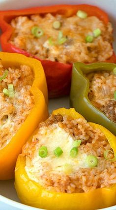 Easy Instant Pot Stuffed Peppers