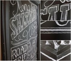 Chalkboard Art tips and tutorial