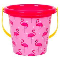 Κουβαδάκι Ροζ Φλαμίνγκο 15x13 cm Anna, Bucket, Baby Shower, Babyshower, Baby Showers, Buckets, Aquarius