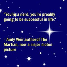 Interview with science fiction writer Andy Weir, author of The Martian, on www.TheMakerMom.com.