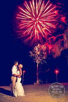 Florida Keys Wedding, Wedding fireworks, Wedding firework exit, Coconut Cove Resort, Islamorada Wedding, www.jasonwebsterphotography.com