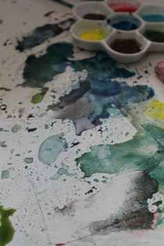 Nymph Echo : Painting lily pads and reflections on water with watercolor on ARTiful, painting demos.