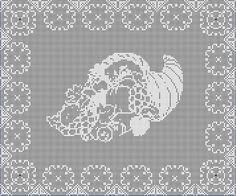 Digital PDF Filet Crochet Harvest Blessings by CrochetMyStyle